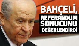 Devlet Bahçeli Referandum Sonucunu Değerlendirdi