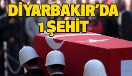 Diyarbakır'da çatışma: 1 şehit