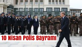 Erdoğan, polislerle bir araya geldi