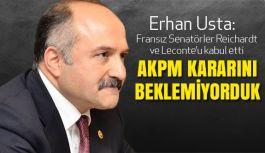 Erhan Usta: Türkiye Bir Tercih Noktasına Getirilmemeli