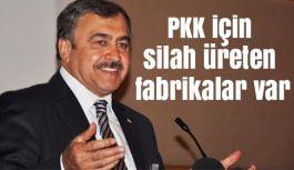 Eroğlu: PKK için silah üreten fabrikalar var
