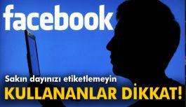 Facebook'ta dayınızı etiketlemeyin