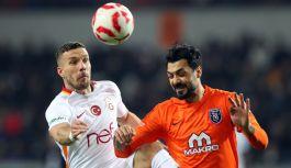 Galatasaray, Başakşehir deplasmanında üstün