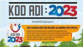 Gençlik Merkezleri'nde; 'Kod Adı 2023 Projesi'