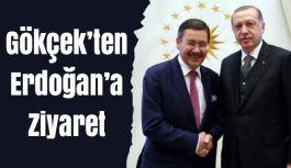 Gökçek'ten Erdoğan'a ziyaret