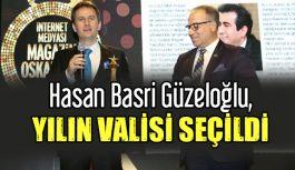 """Güzeloğlu'na """"Yılın Valisi"""" Ödülü"""