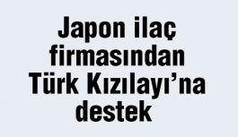 Japonlardan Türk Kızılayı'na destek