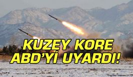 Kuzey Kore'den ABD'ye uyarı!