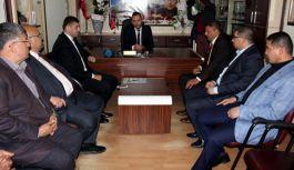 MHP Kayseri İl Başkanı Ersoy Şehit Aileleri'ne Ziyaret Etti