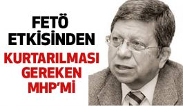 """""""MHP ve Ülkücü Hareket Fetö Etkisinden Kurtarılmalı"""""""