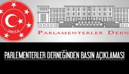 Parlamenterler Derneğinden Basın Açıklaması