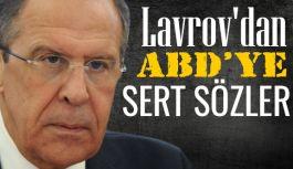 Rus Bakan Lavrov'dan ABD'ye sert sözler