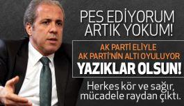 Şamil Tayyar, Artık Yokum:  Ak Parti eliyle Ak Parti'nin altı oyuluyor!