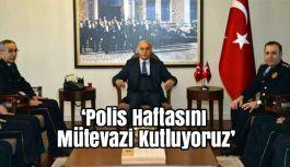 Samsun Valisi Şahin; Polis Haftasını Mütevazi Kutluyoruz
