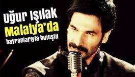Sanatçı Işılak'tan Malatya'da memleket türküleri söyledi