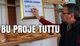 Sivas'ta 'Askıda Ekmek Var'Projesi Tuttu