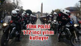 Türk Polis Teşkilatı'nın 172'inci kuruluş yılı