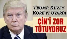 ABD Başkanı Trump, Kore'yi Çok Sert Şekilde Uyardı!