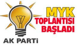 AK Parti MYK, Binali Yıldırım Başkanlığında Toplandı
