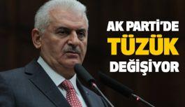 AK Parti'de Tüzük Değişiyor...