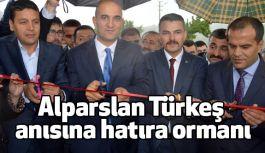 Alparslan Türkeş anısına hatıra ormanı