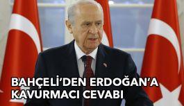 Bahçeli Erdoğan'ın O Sözlerine Cevap Verdi