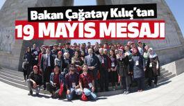 Bakan Kılıç'tan 19 Mayıs Atatürk'ü Anma, Gençlik ve Spor Bayramı Mesajı