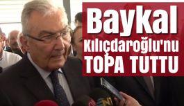 Baykal: CHP sopa sallayarak yönetilemez