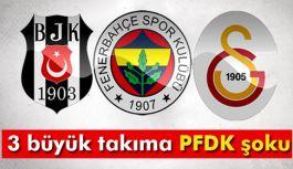 Bu Takımlar PFDK'ya sevk edildi