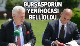 Bursasporun Yeni Hocası Belli Oldu