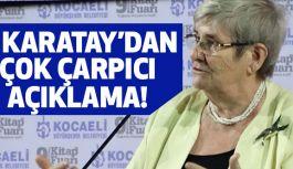 Canan Karatay; Oruç Hurma ile değil Zeytinle açılacak!