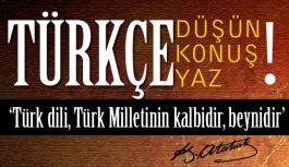 Cumhurbaşkanı'nın Gündeme Getirdiği Türkçe faaliyetini Destekliyoruz