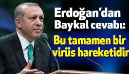 Erdoğan; Bu Bir Virüs Hareketidir!