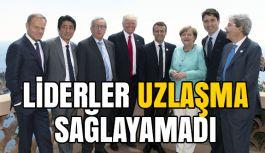 G7 zirvesinde liderler uzlaşma sağlayamadı