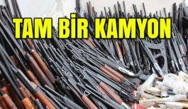 Hatay'da 1 Kamyon Dolusu Silah Yakalandı