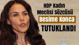HDP'li Siirt Milletvekili Besime Konca Tutuklandı