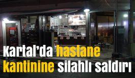 İstanbul'da Hastane Kantinine Silahlı Saldırı