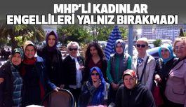 MHP'li kadınlar Engellileri yalnız bırakmadı