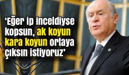MHP Lideri Bahçeli, Grup Toplantısında Çok Sert Konuştu