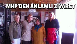 MHP'li Kadınlardan Anlamlı Ziyaret