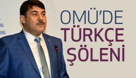 Ondokuz Mayıs Üniversitesi'nde Türkçe Şöleni