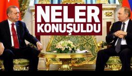 Putin ve Erdoğan Neler Konuştu?