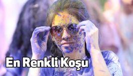 Renkli Koşu Festivali Bursa'yı Renklendirdi