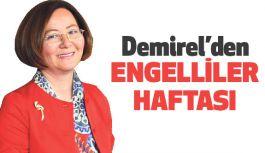 Ruhsar Demirel'den Engelliler Haftası