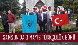 Samsun'da 3 Mayıs Türkçülük Günü
