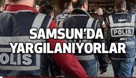 Samsun'da FETÖ'den tutuklanan polis müdürleri