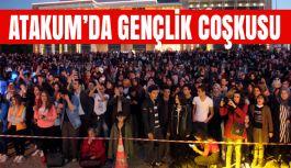 Samsun'da Gençlik Festivalinde Ateşler Yakıldı, Dans Edildi