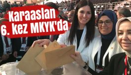 Samsun Milletvekili Karaaslan 6. kez MKYK'da