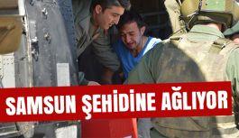 Şehidin Naaşı Memleketi Samsun'a Gönderildi