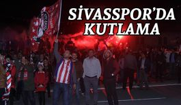 Sivas'ta şampiyonluk coşkuyla kutlandı